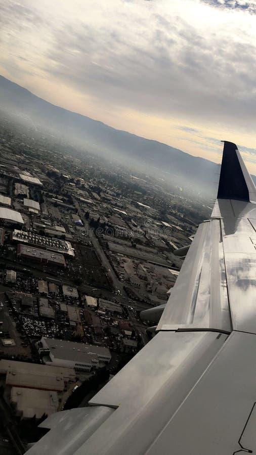 飞机乘驾 图库摄影