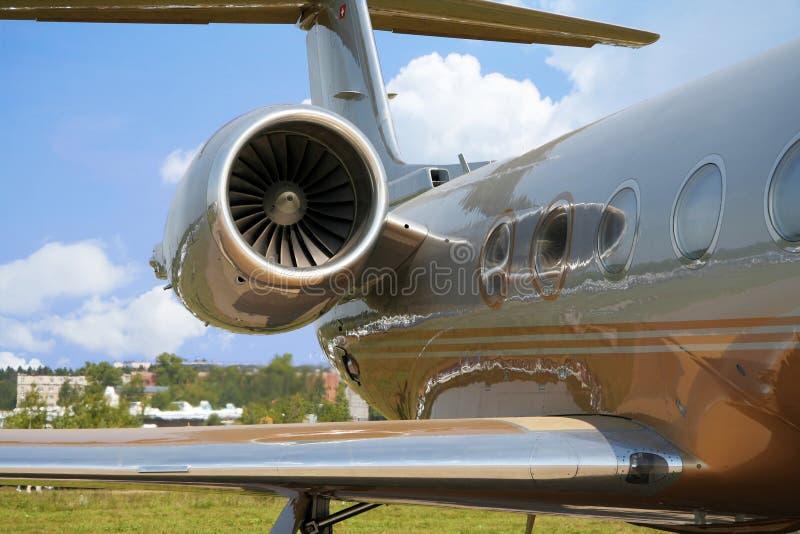 飞机企业飞行 免版税库存照片