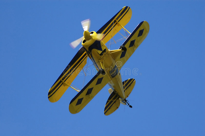 飞机双翼 库存图片
