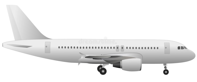 飞机向量 库存例证