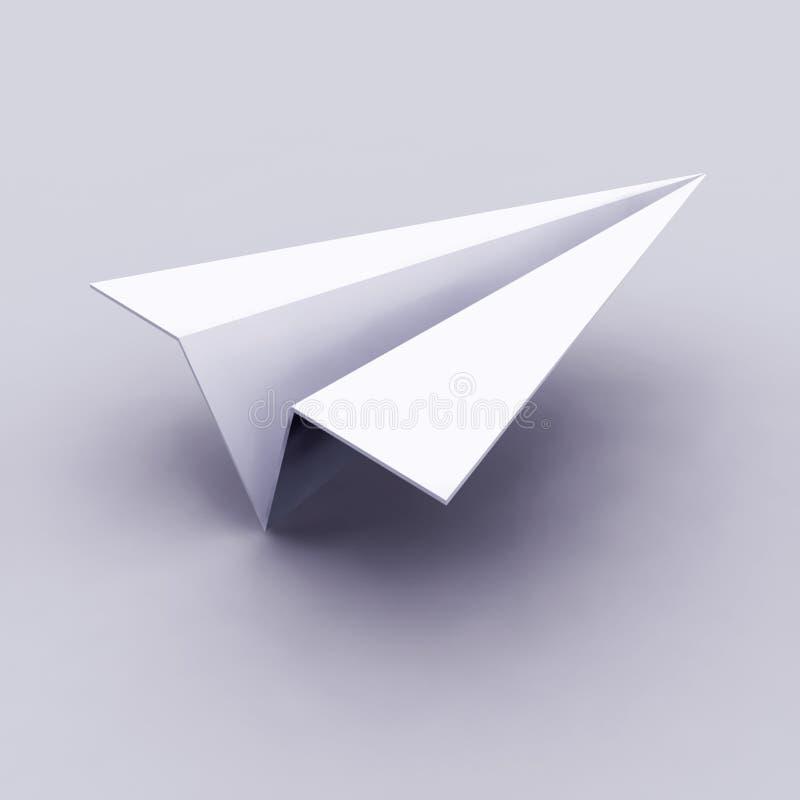 飞机图标 库存例证