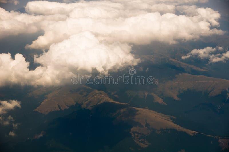 飞机天空 图库摄影