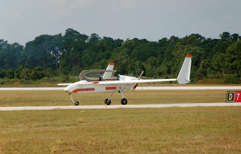 飞机实验光 免版税库存照片