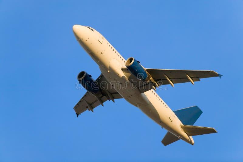 飞机开始 免版税库存图片