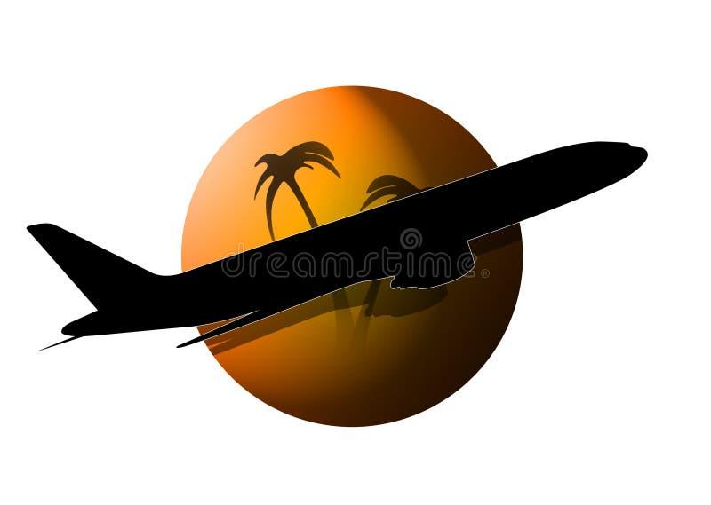 飞机徽标 图库摄影