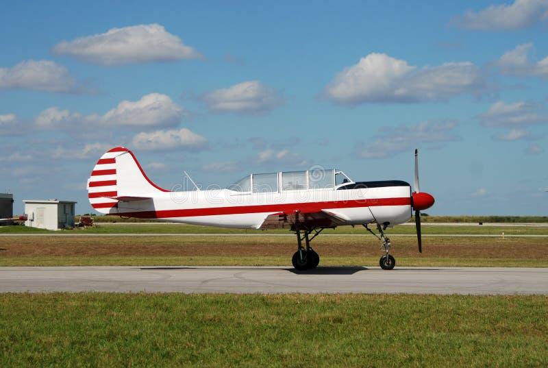 飞机推进器俄语 库存照片