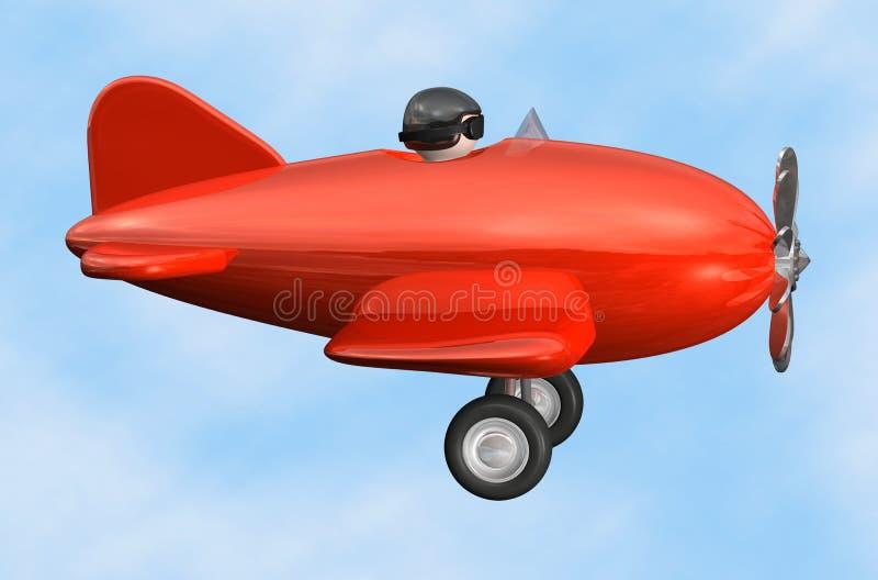 飞机查出的配置文件 向量例证