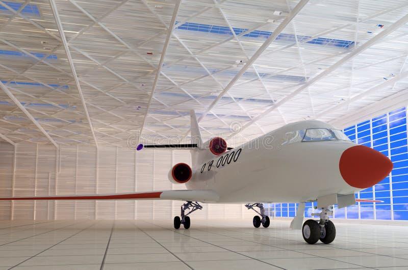 飞机棚 向量例证