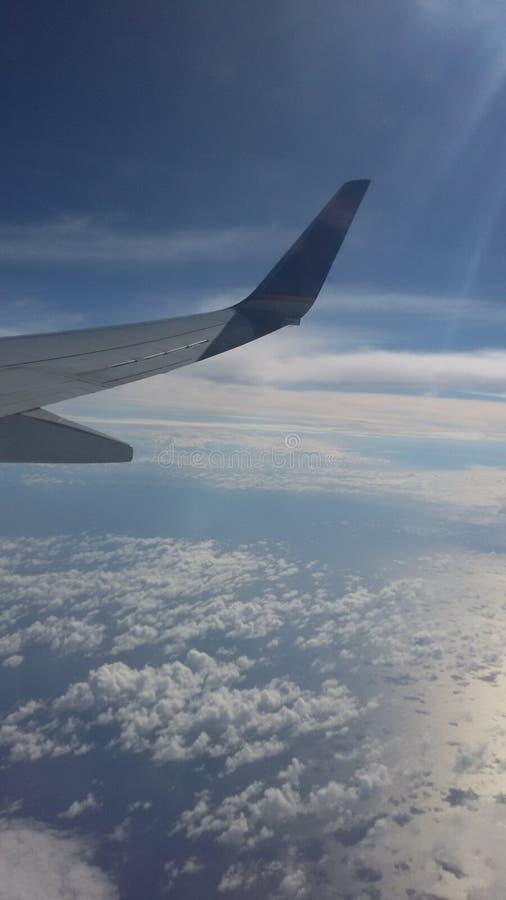 飞机的看法 免版税库存图片