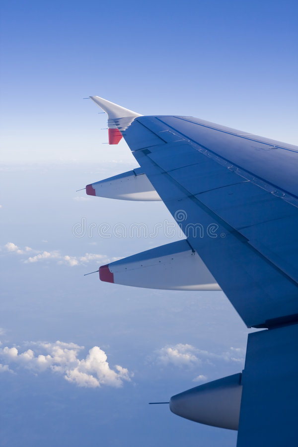 飞机空运 免版税库存照片