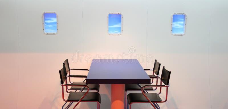 飞机装饰喜欢 免版税库存照片