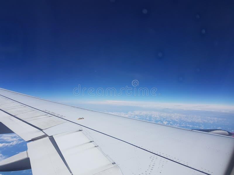 飞机视图 库存照片