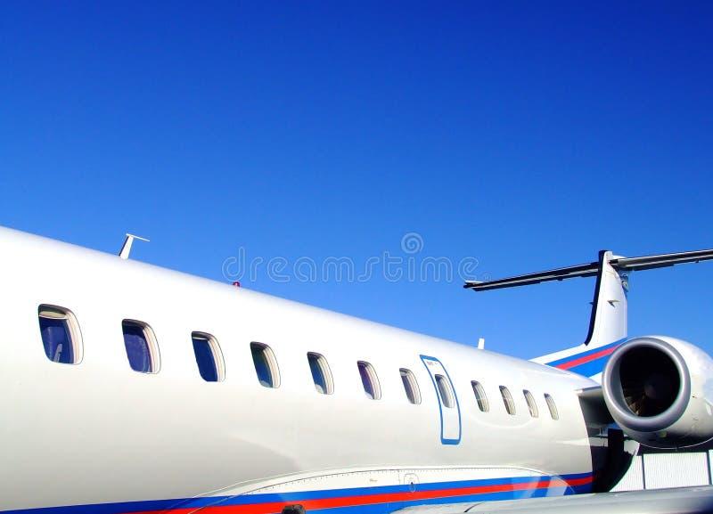 飞机豪华vip 免版税库存照片