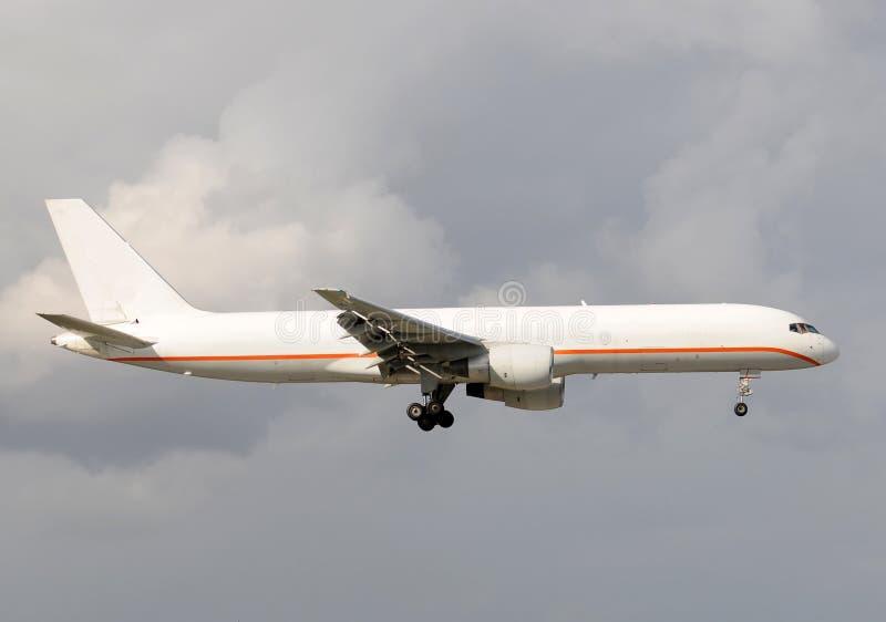 飞机货物喷气机 库存图片
