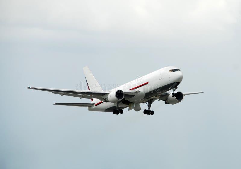 飞机货物喷气机 图库摄影