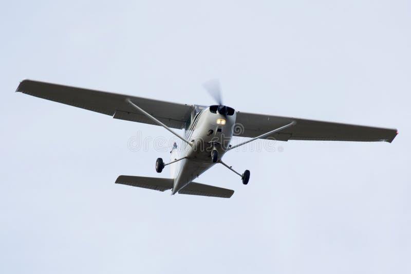 飞机轻的支柱涡轮 库存图片
