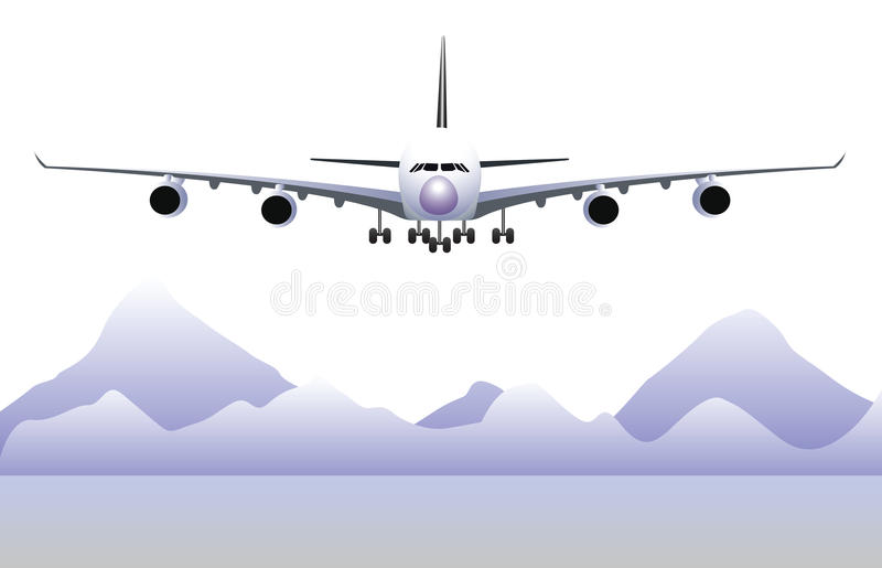 飞机 库存例证