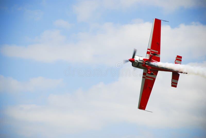 飞机airshow 免版税库存图片