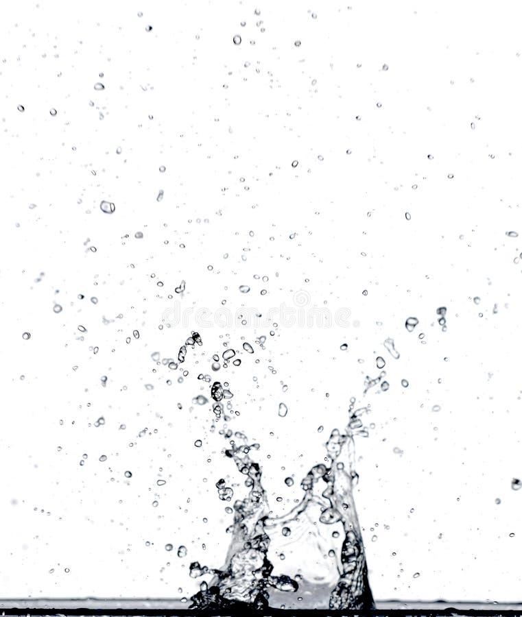 飞溅水 库存图片