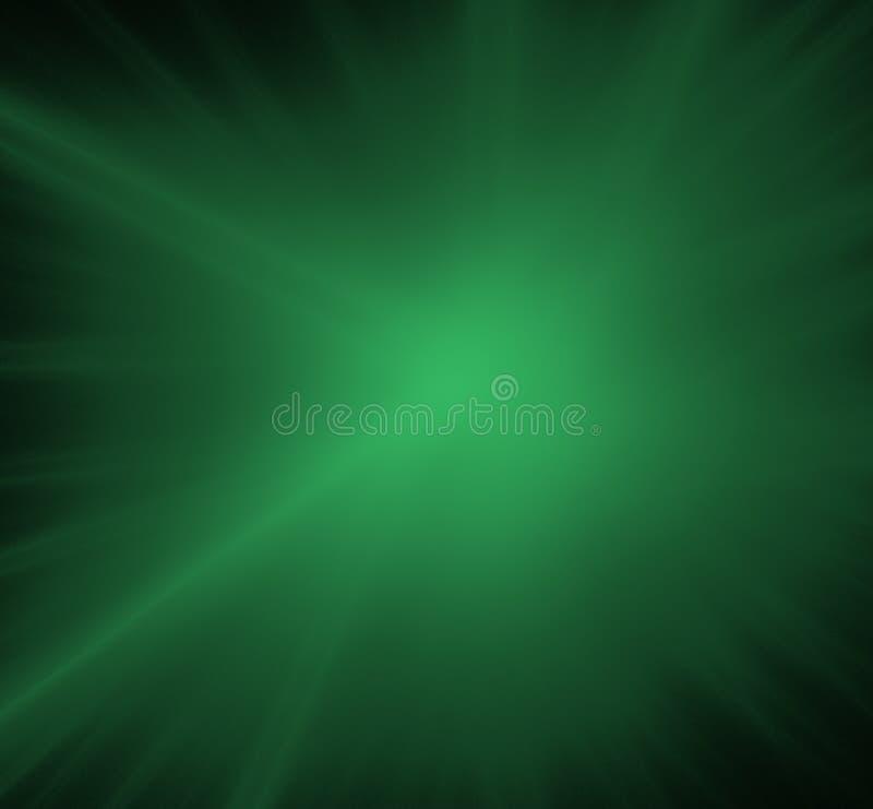 飞碟绿色被弄脏的分数维背景 幻想分数维纹理 abstact艺术深深数字式红色转动 3d翻译 计算机生成的图象 库存例证