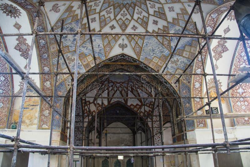 飞翅庭院在喀山,伊朗 免版税库存图片