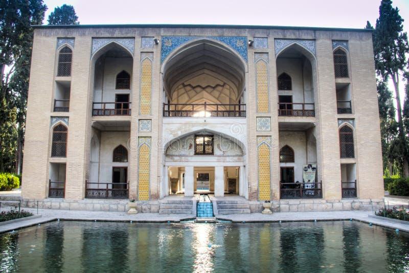 飞翅庭院在喀山,伊朗 库存照片