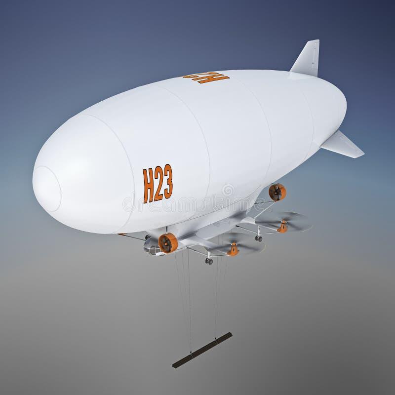 飞艇 向量例证