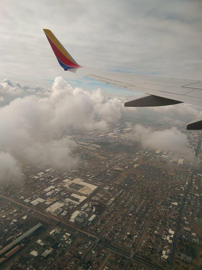 飞行向科罗拉多 免版税库存图片