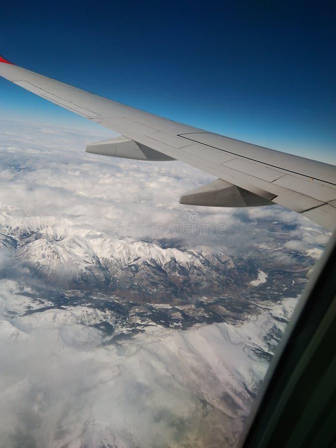 飞行向科罗拉多 库存照片