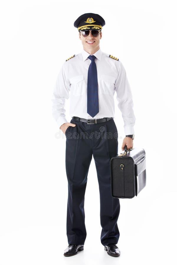 飞行员 库存照片