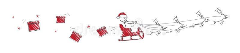 Download 飞行圣诞老人 向量例证. 插画 包括有 问候, 分配, 圣诞节, 愉快, 季节, ,并且, 末端, 当事人 - 62532933