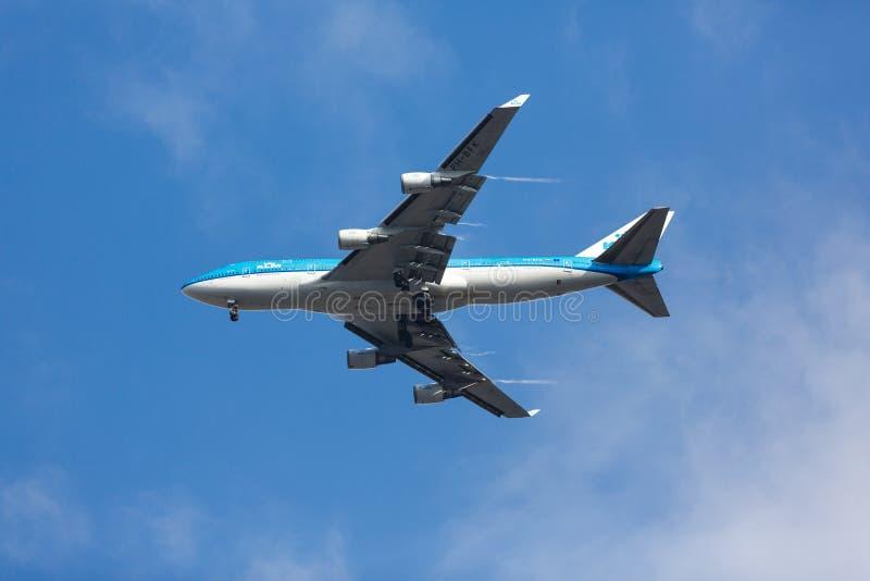 飞行天空 库存图片
