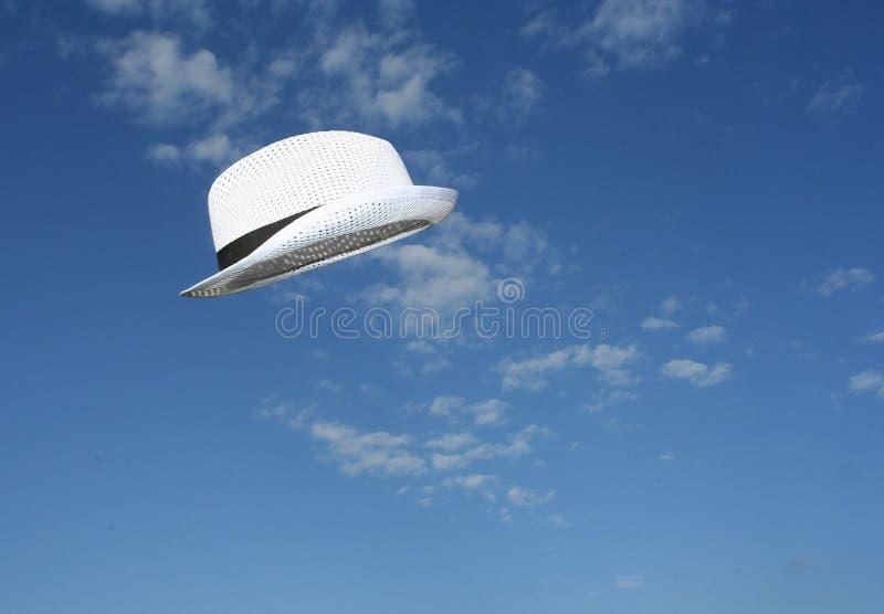 飞行帽子 库存照片