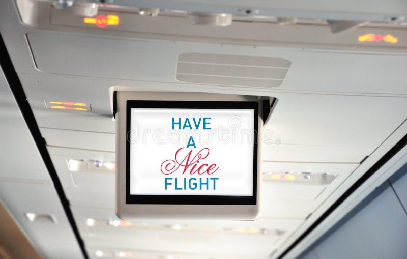 飞行有好 库存照片