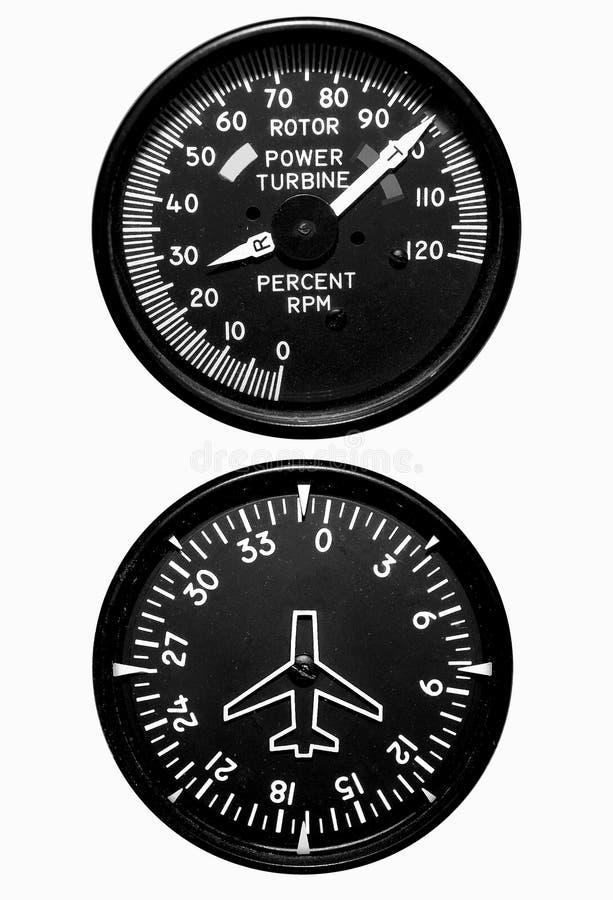 飞行测量仪 免版税库存照片