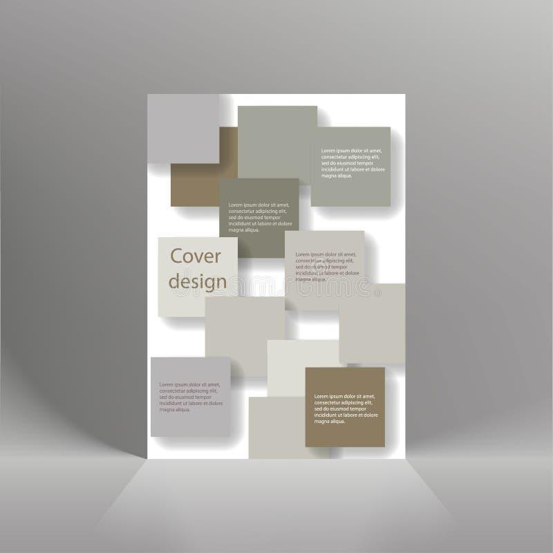 飞行物盖子企业小册子传染媒介设计,给的传单抽象背景,现代海报杂志布局模板, Annu做广告 皇族释放例证