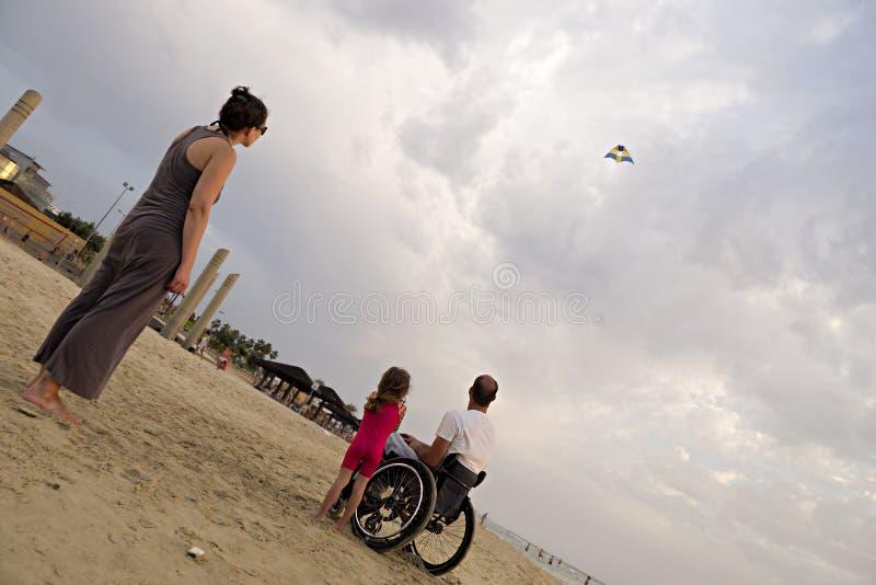 飞行的风筝  图库摄影
