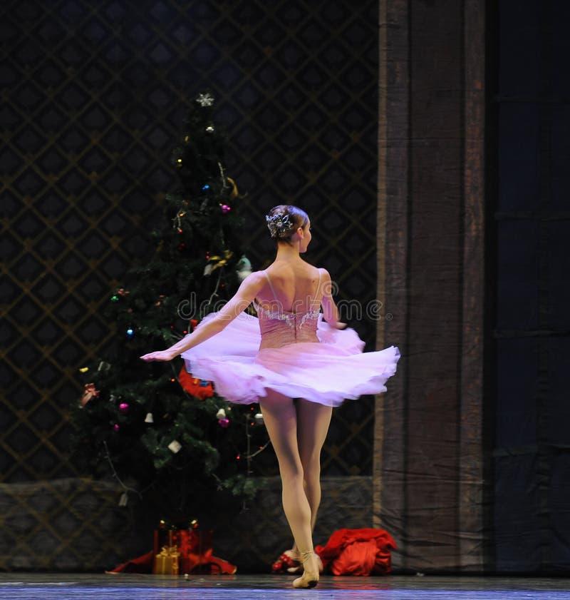 飞行裙子这芭蕾胡桃钳 图库摄影