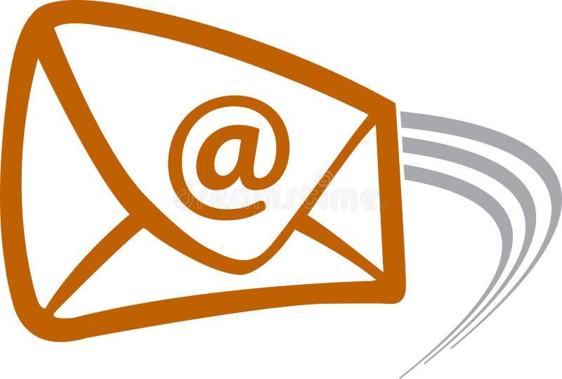 飞行邮件 皇族释放例证