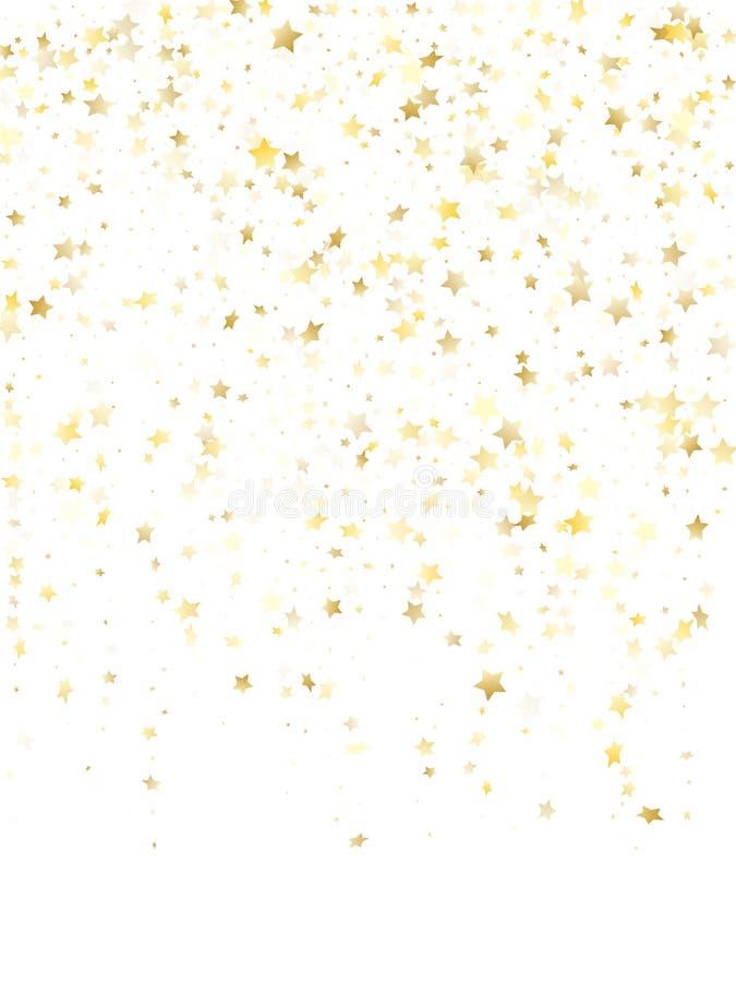 飞行金星闪闪发光传染媒介有白色背景 库存例证