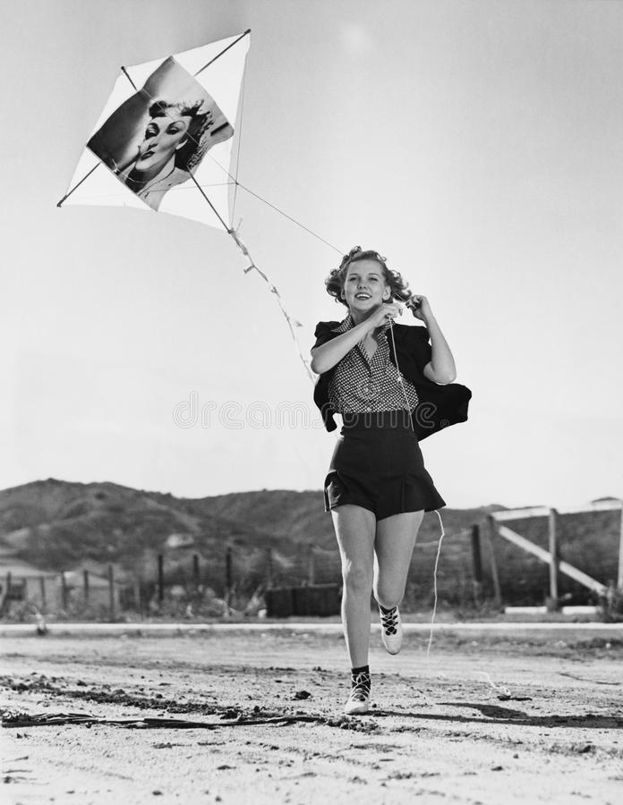 去飞行风筝(所有人被描述不更长生存,并且庄园不存在 供应商保单将没有模型r 库存图片