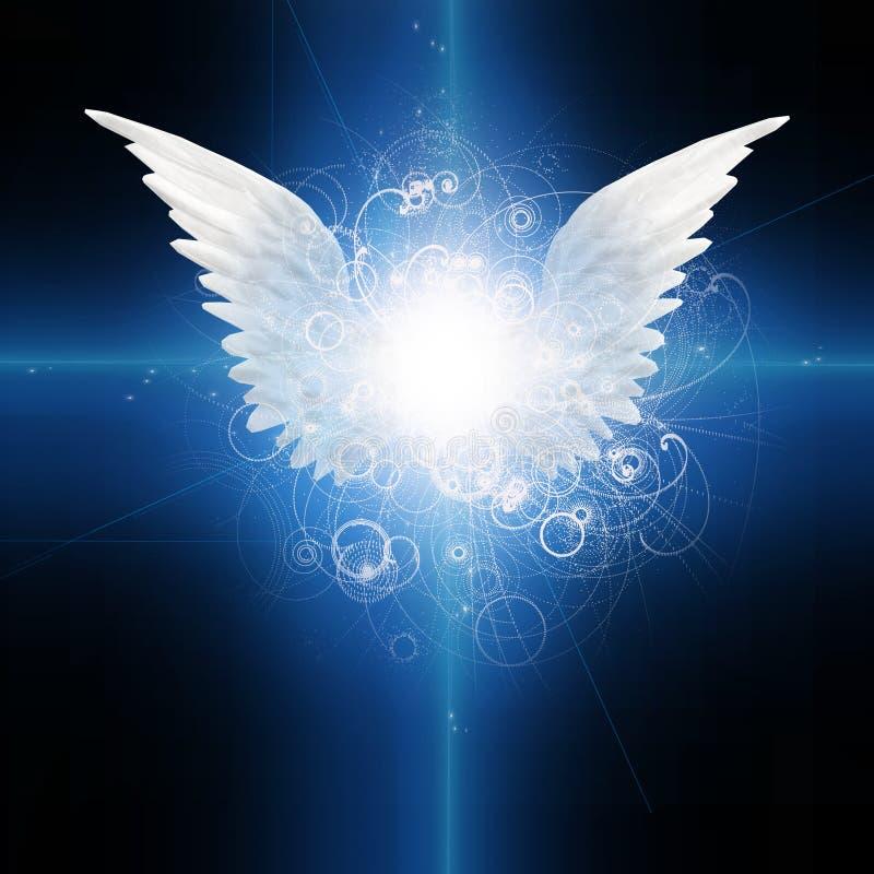 飞过的天使 皇族释放例证