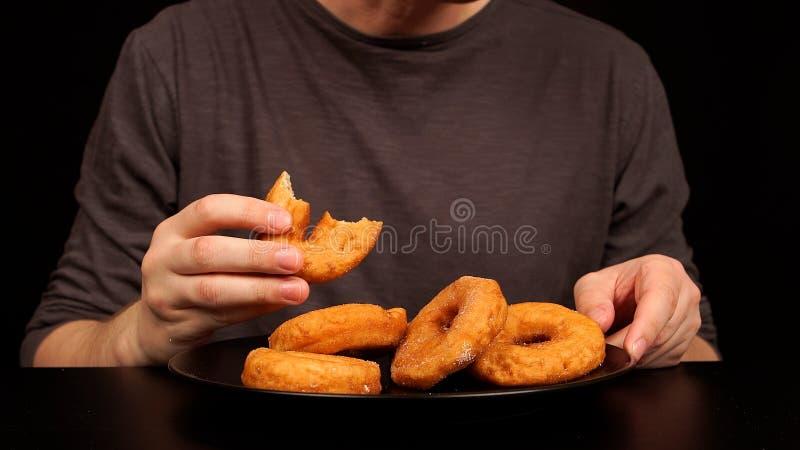 食人很多多福饼 库存图片