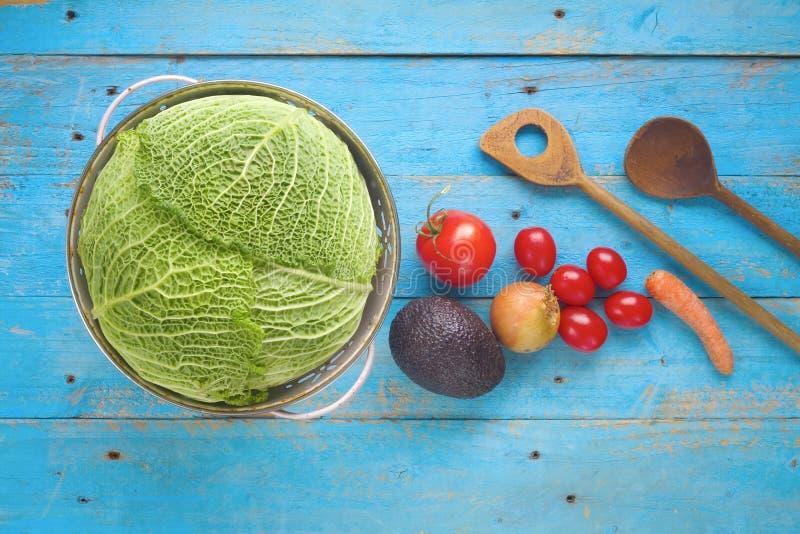 食品成分,烹调概念 免版税库存照片