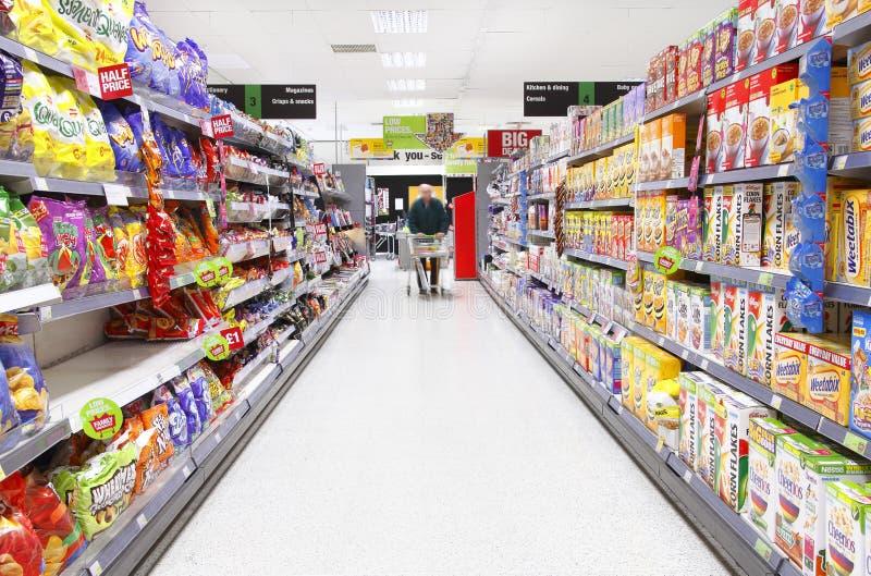 食品购物 库存图片