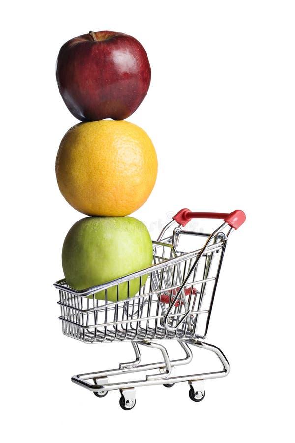 食物健康购物 库存图片