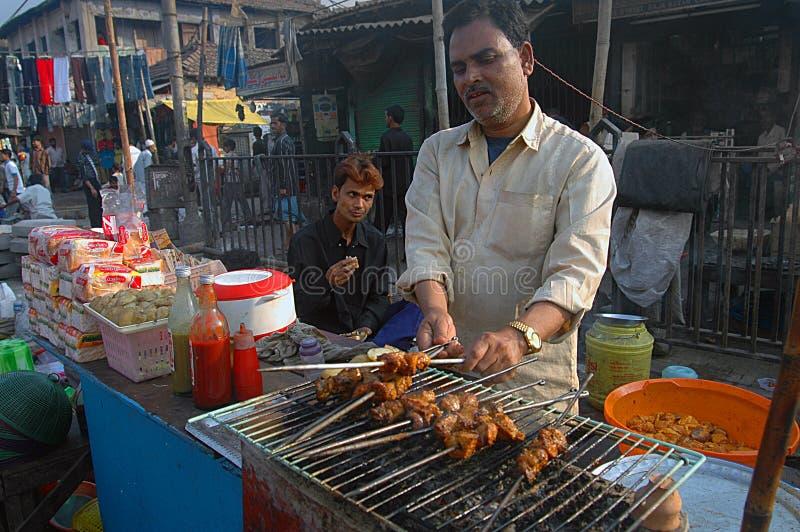 食物印第安辣 图库摄影