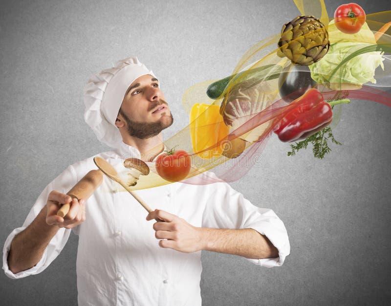 食物和谐 库存照片