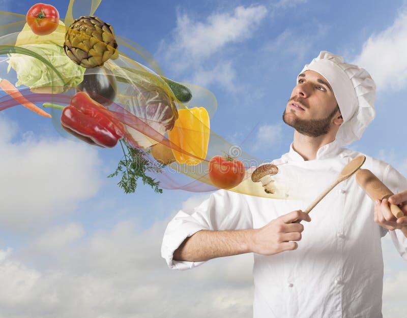 食物和谐 库存图片
