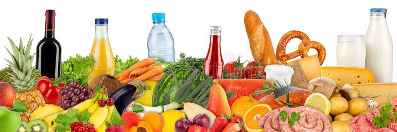 食物和饮料的变异 免版税库存图片
